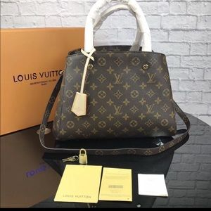 Louis Vuitton Montaigne monogram bag